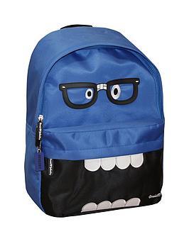 david-goliath-monster-geek-backpack-blue