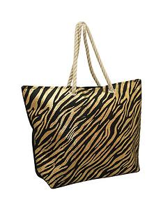 kangol-leopard-print-rope-handle-shopper