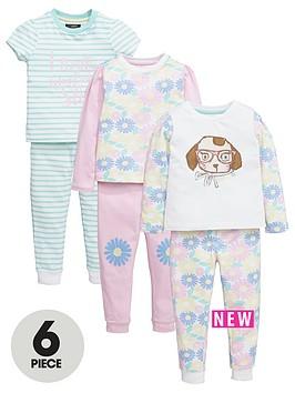 mini-v-by-very-girls-puppy-and-daisy-pyjamas-set-6-piece