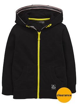 mini-v-by-very-boys-black-zip-through-hoodie