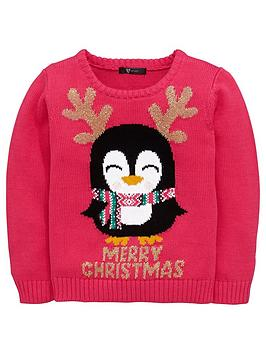 mini-v-by-very-girls-sparkle-penguin-jumper