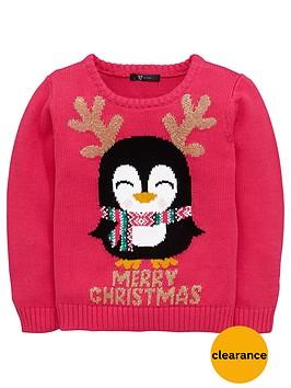 mini-v-by-very-girls-sparkle-penguin-jumper