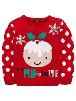 mini-v-by-very-girls-too-pud-to-be-true-christmas-jumper