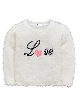 mini-v-by-very-girls-sequin-heart-fluffy-jumper