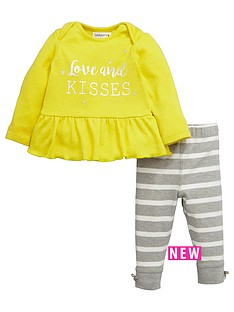 ladybird-babynbspgirls-love-and-kisses-top-and-leggings-set