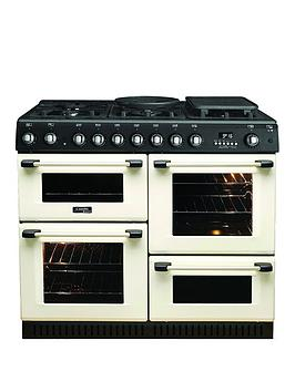Cannon By Hotpoint Ch10755Gfs 100Cm Gas Range Cooker And Gas Hob With Fsd - Cream