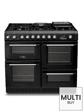 cannon-ch10456gfs-100cm-dual-fuel-range-cooker-with-gas-hob-black