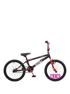 rooster-radical-kids-20-inch-bmxnbspbike-blackred