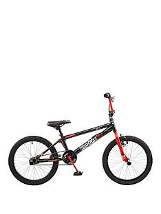 rooster-radical-kids-bmx-bike-10-inch-framenbsp--blackred