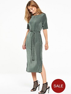 v-by-very-slinky-side-split-midi-dress