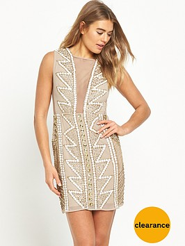 maya-embellished-mesh-v-neck-mini-dress-nude