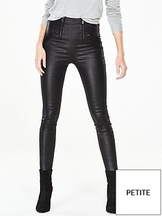 v-by-very-petite-square-zip-coated-skinny-trousernbsp