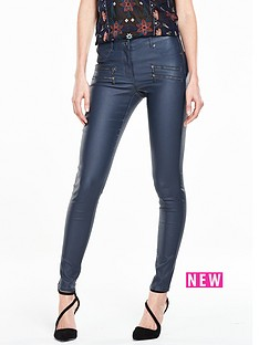 v-by-very-petite-indigo-coated-skinny