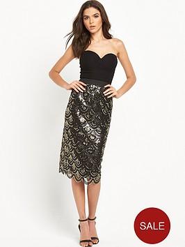 rare-sequin-midi-dress