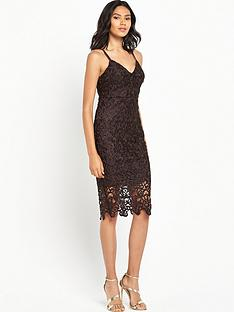 ax-paris-strappy-crotchet-midi-dress