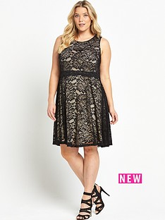 so-fabulous-double-layer-dress-blacknude