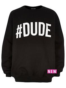 river-island-boys-black-dude-print-sweatshirt