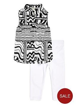 river-island-mini-girls-printed-shirt-and-leggings-set