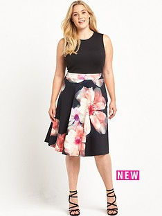 so-fabulous-floral-print-skirt-scuba-prom-dress