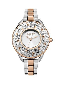 lipsy-lipsy-silver-dial-stone-set-bezel-rose-gold-silver-metal-bracelet-ladies-watch
