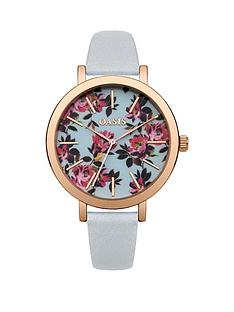 oasis-oasis-floral-printed-dial-grey-pu-strap-ladies-watch
