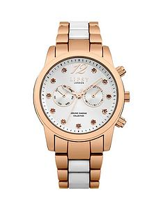 lipsy-lipsy-silver-diamond-set-dial-rose-gold-white-metal-bracelet-ladies-watch