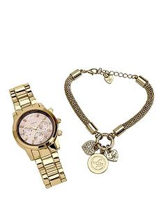 lipsy-lipsy-grey-dial-gold-metal-bracelet-ladies-watch-and-bracelet-gift-set