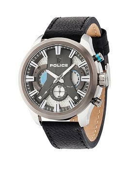 police-police-cyclone-silver-dial-black-leather-strap-mens-watch