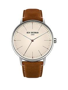 ben-sherman-ben-sherman-portobello-touch-off-white-dial-brown-leather-strap-mens-watch
