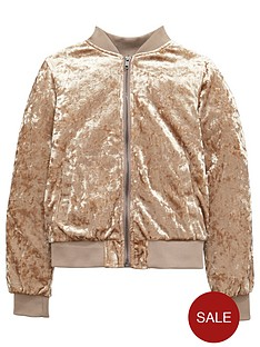 v-by-very-girls-velvet-bomber-jacket