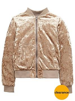 v-by-very-girls-velvet-bomber-jacket