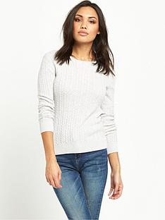 superdry-croyde-luxe-mini-cable-knit-jumper-ice-marl
