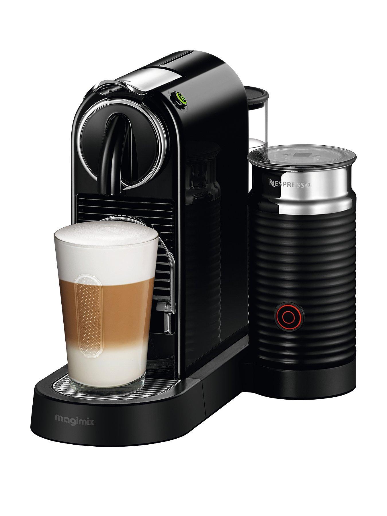 Nespresso Citiz U0026 Milk Coffee Machine By Magimix   Black