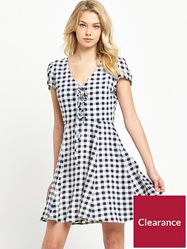 denim-supply-ralph-lauren-lace-up-mini-dress-colton-check