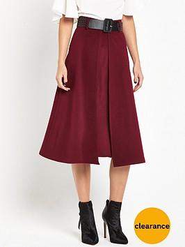 lost-ink-wool-wrap-belted-skirtnbsp