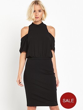 lost-ink-saidienbsp2-in-1-woven-mix-bodycon