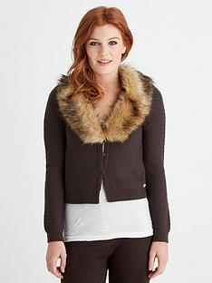 joe-browns-freestyle-faux-fur-cardigan