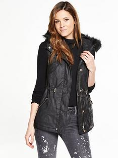 v-by-very-waxed-look-gilet