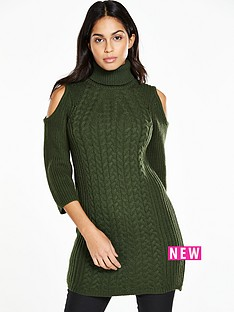 v-by-very-cold-shoulder-cable-front-polo-neck-tunic