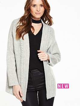 v-by-very-frill-detail-chunky-cardigan