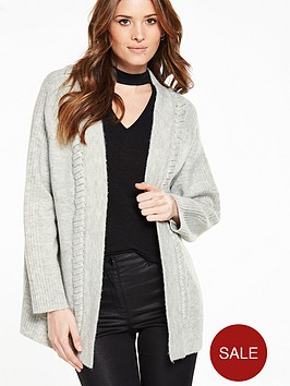 v-by-very-frill-detail-chunky-cardigan
