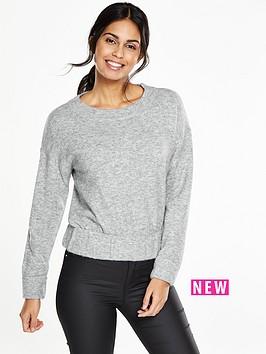v-by-very-crew-neck-elasticated-hem-jumper