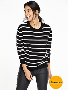 v-by-very-stripe-zip-jumper