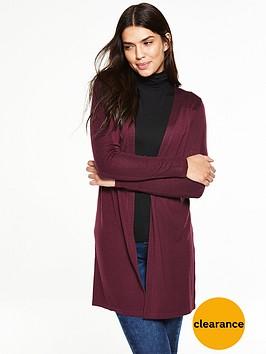 v-by-very-mesh-detail-drape-cardigan