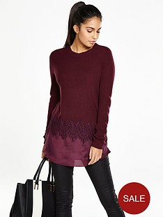 v-by-very-crew-neck-lace-insert-jumper