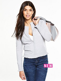 v-by-very-super-soft-ruffle-detail-cardigan