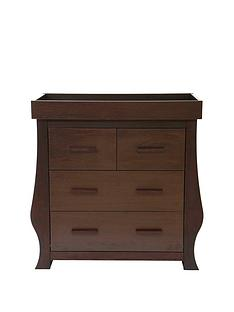 BabyStyle Hollie Dresser - Rich Walnut