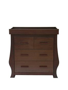 BabyStyle Hollie Dresser – Rich Walnut, One Colour
