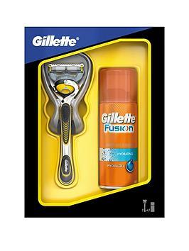 gillette-fusion-proshieldnbsprazor-andnbsp75ml-gel-gift-set