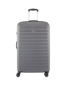 delsey-segur-78cm-4-double-wheel-large-trolley-case